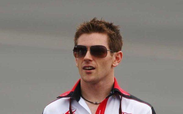 Davidson intensifica su actividad como piloto probador de Mercedes