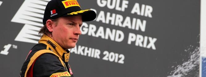 Kimi Räikkönen en Baréin