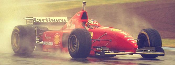Schumacher en el GP de España 1996