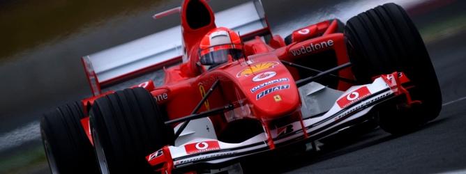 Schumacher en el GP de Francia 2004