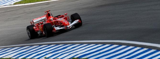 Schumacher en el GP de Brasil 2006