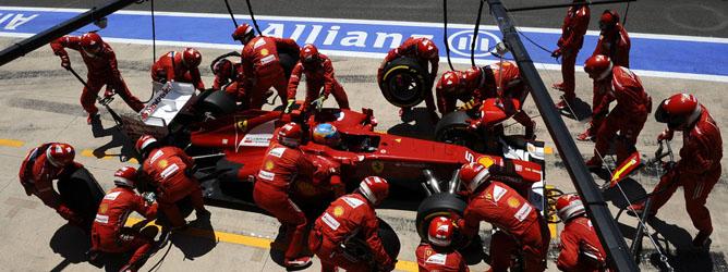 Fernando Alonso, el líder de Ferrari