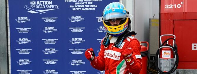 Fernando Alonso gana en Alemania 2012
