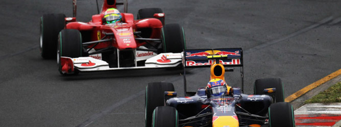 Mark Webber y Felipe Massa
