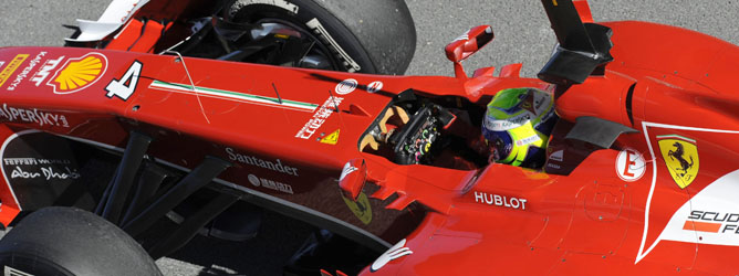 Felipe Massa en Jerez