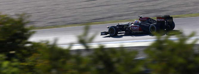 Romain Grosjean y el E21