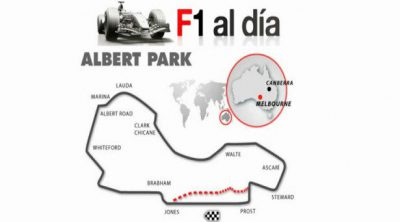 Vuelta virtual al circuito de Albert Park