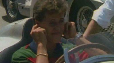 Un jovencísimo Schumacher en las fechas plateadas