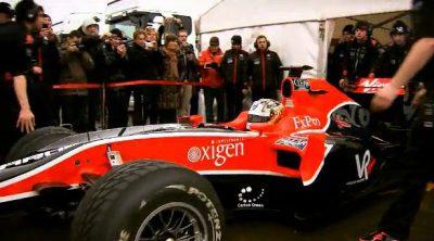 'Shakedown' del monoplaza de Virgin Racing
