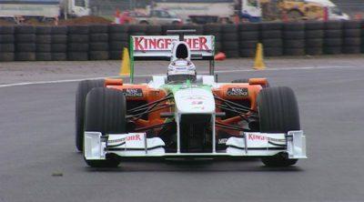 Force India completa el 'shakedown' del VJM03 en Silverstone