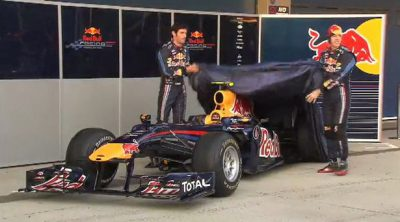 Red Bull presenta el RB6