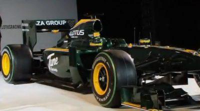 Así construyó Lotus su T127