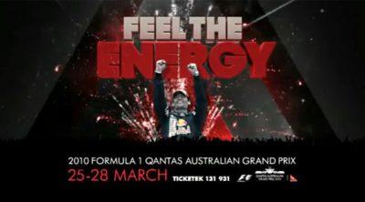 Anuncio del GP de Australia 2010