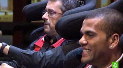 Buenafuente se prepara con Dani Alvés para el GP de Australia