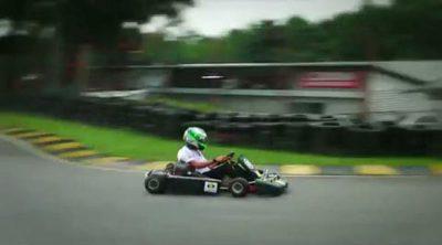 Una tarde de karting con Kovalainen y el equipo Lotus