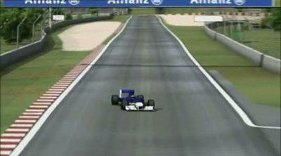 El equipo Williams analiza el Circuit de Catalunya