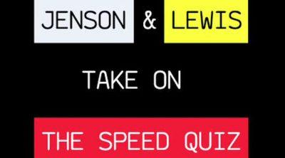 Jenson y Lewis en 'la encuesta rápida'
