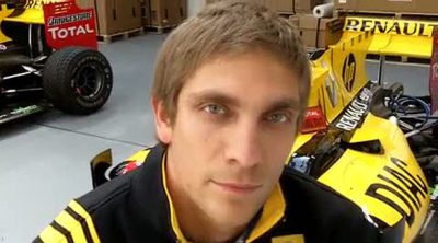 Petrov habla sobre el GP de Turquía 2010