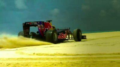 Más imágenes de Jaime sobre la arena de la República Dominicana