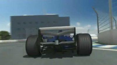 El equipo Williams analiza el Circuito de Valencia