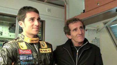 Entrevista a Nico y Alain Prost desde Magny-Cours