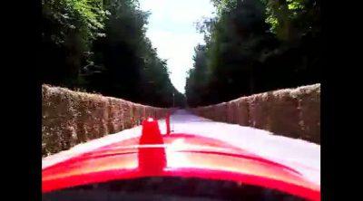 'On-board' de Senna al volante del MP4-8 de su tío Ayrton