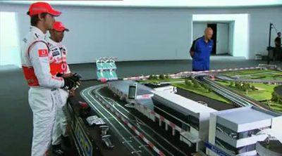 Un pequeño entrenamiento en Silverstone 2010 (McLaren)