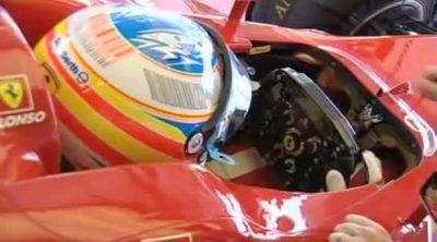 Alonso y Massa hablan antes del GP de Alemania 2010