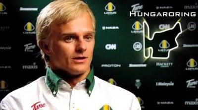 Entrevista a Kovalainen antes de la carrera de Hungaroring
