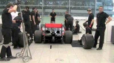 Así prepara McLaren sus paradas en boxes
