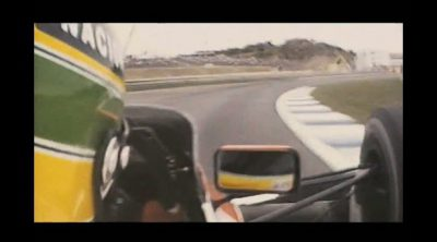 Trailer de la película sobre Ayrton Senna (en  japonés)