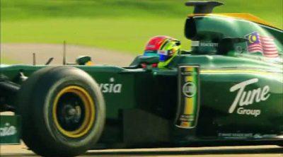 Nabil Jeffri debuta a los mandos del Lotus T127