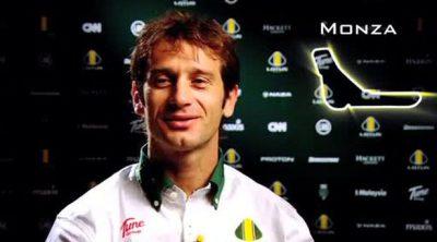 Entrevista a Trulli antes de la carrera de Monza