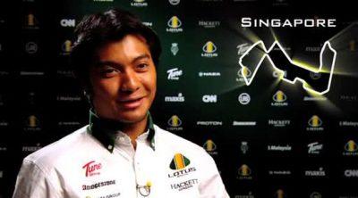 Entrevista a Fauzy antes de la carrera de Singapur