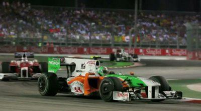 Los pilotos de Force India hablan sobre el GP de Singapur