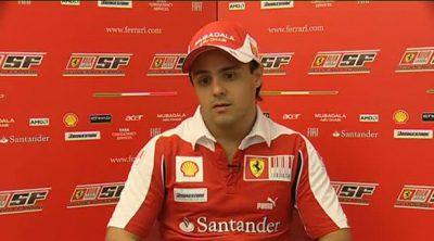 Massa habla antes del GP de Singapur 2010