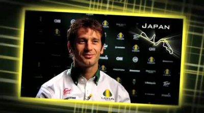 Entrevista a Trulli antes de la carrera de Suzuka