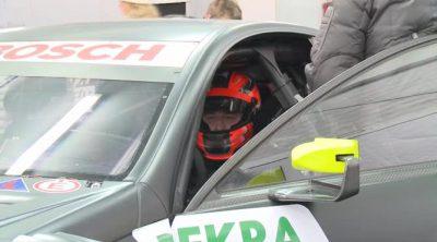 Robert Kubica prueba un DTM de Mercedes en Cheste
