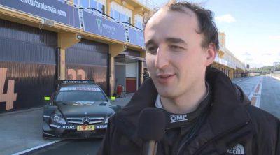 Las sensaciones de Robert Kubica tras su test con el DTM de Mercedes