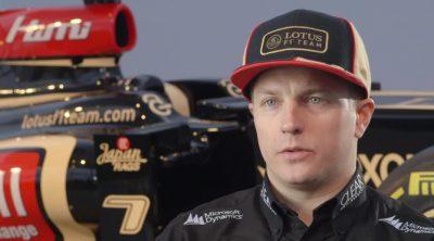 Kimi Räikkönen habla sobre el nuevo Lotus E21