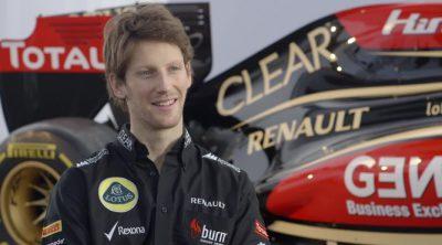 Romain Grosjean habla sobre el nuevo Lotus E21