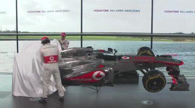 Presentación del McLaren MP4-28 de 2013