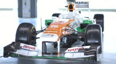 Presentación del Force India VJM06 de 2013