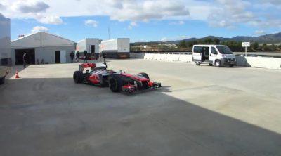 Así estrenó McLaren el nuevo MP4-28