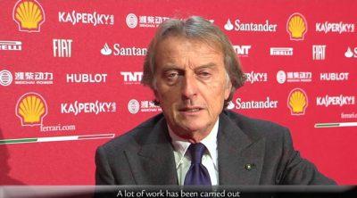 Luca di Montezemolo habla sobre el nuevo Ferrari F138