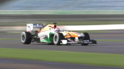 Primeras vueltas en pista del Force India VJM06