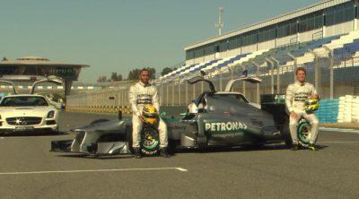 Presentación del nuevo Mercedes W04 de 2013