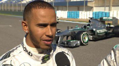 Lewis Hamilton habla sobre el nuevo Mercedes W04