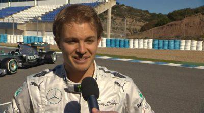 Nico Rosberg habla sobre el nuevo Mercedes W04