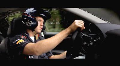 Sebastian Vettel y Sebastién Buemi colaboran en el desarrollo del Infiniti Q50